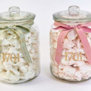 Nougat Glass Jars - Grayhouse