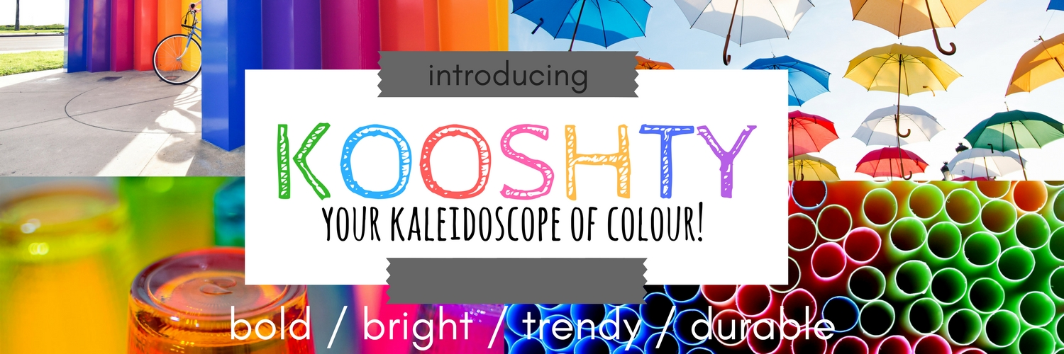 Kooshty Colours - Grayhouse