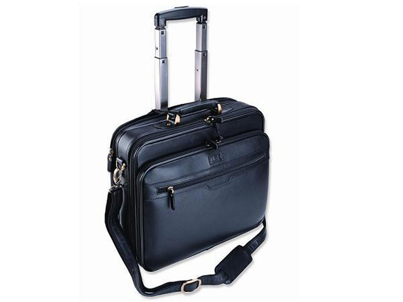 Adpel Smartline Computer Bag On Wheels Black