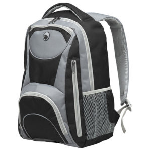 "Adventure 15"" Laptop Backpack Black"