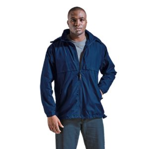 Navy Weatherproof Polyamide Jacket - Grayhouse