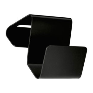 Aluminium Phone Holder Black Lacquer