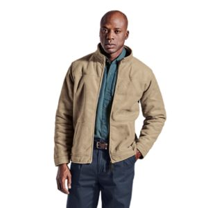 Ari Jacket Brown Front - Grayhouse