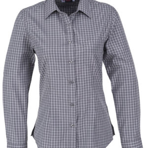 Aston Long Sleeve Shirt Ladies Grey