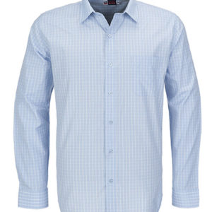 Aston Long Sleeve Shirt Mens Light Blue