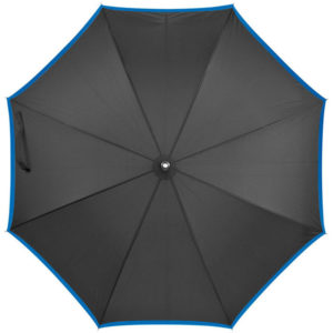 Automatic Pongee Umbrella Black