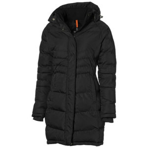 Balkan Insulated Jacket Ladies Black