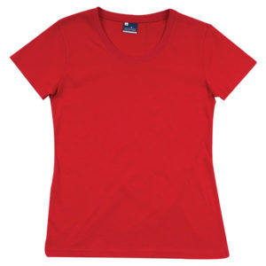 Basic Short Sleeve T-Shirt Ladies