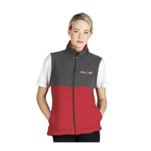 Benneton Zip-Off Fleece Jacket Ladies
