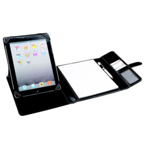 Bettoni Elite Trifold Tablet Cover with Tab Closure Black