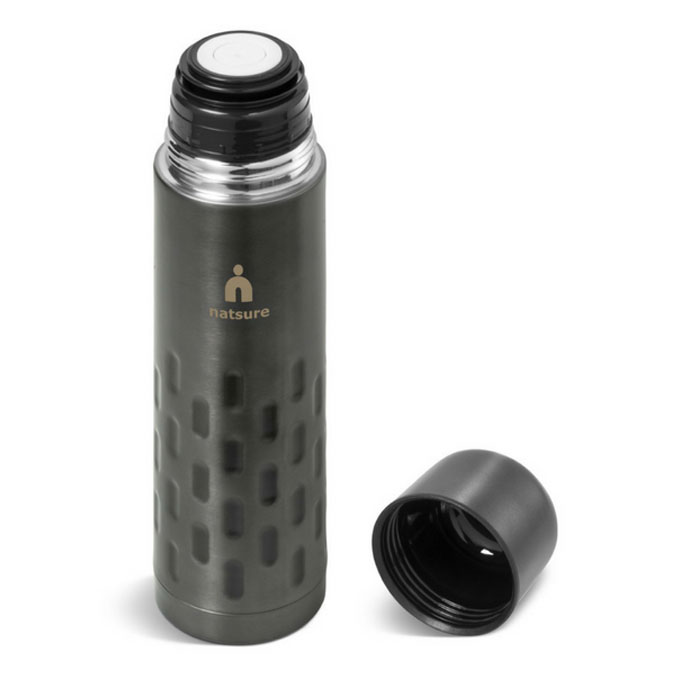 Gray House Flask Branded Corporate Gift