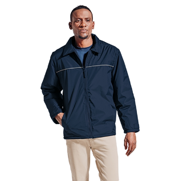 Blue Mens Hi-Tech Bomber Jacket - Grayhouse
