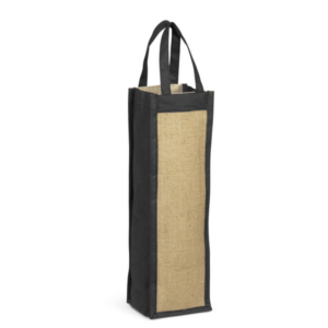 Gray House Bordeaux Single Bottle Wine Bag