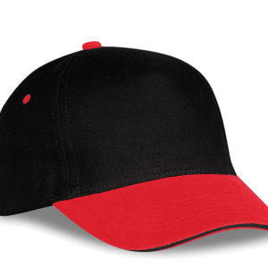 Brizton 5 Panel Cap Red
