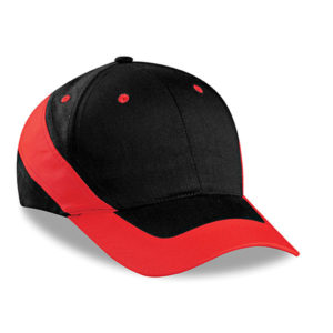 Brooklyn 6 Panel Cap Red