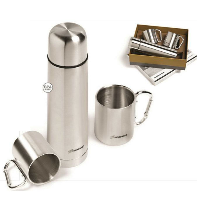 Grayhouse Promotions Branded Gift Flask