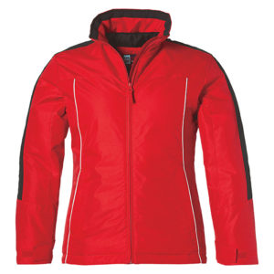 Calibri Winter Jacket Ladies Red