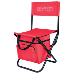 Capri Chair and Cooler Red