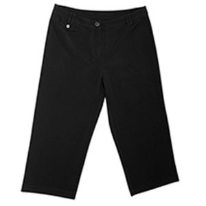 Capri Pants Ladies Black