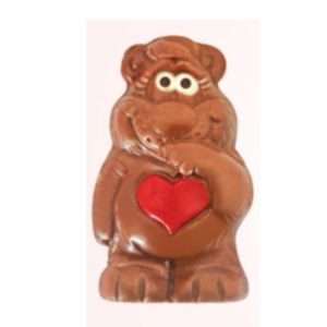 Large Chocolate Love Bear
