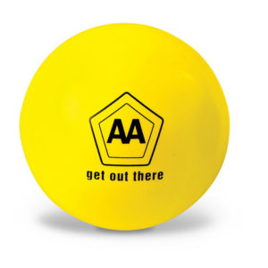 Chill Out Stress Ball Yellow