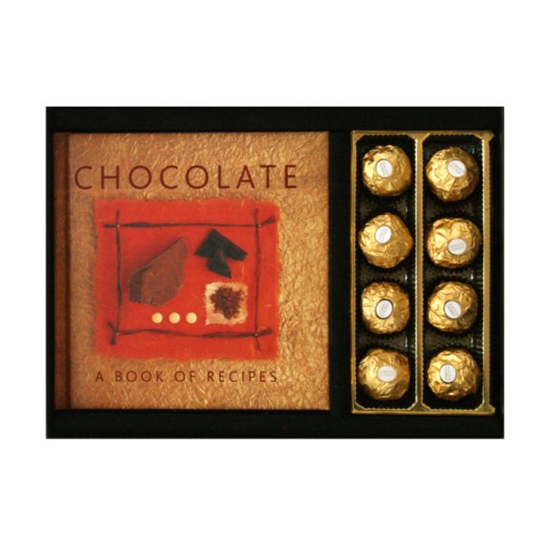 Chocolate Gift Boxes South Africa : Chocolate book with ferrero rocher truffles in gift box