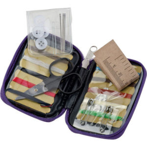 Chrisma Travel Sewing Kit Purple