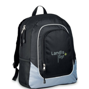 Gray House Branded Cornerstone Tech Backpack