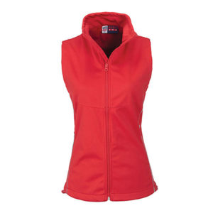 Cornwell Soft Shell Body Warmer Ladies Red