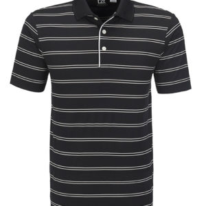 Cutter & Buck Hawthorne Golf Shirt Mens Black