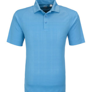 Cutter and Buck Sullivan Golf Shirt Men Light Blue