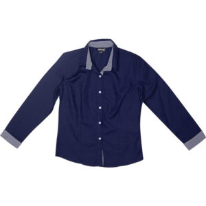Dallas Blouse Ladies Navy