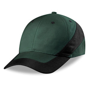 Daytona 6 Panel Cap Green