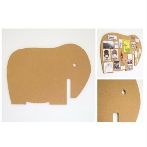 Elephant-cork-pin-board - Grayhouse