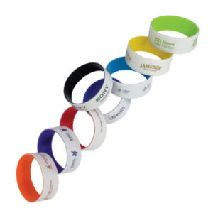 Engraved Silicone Wrist Band
