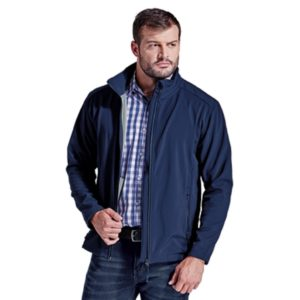 Navy Evoke Jacket Unzipped