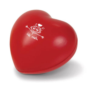 Feel the Love Stress Ball Red