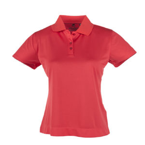 Gary Player Wynn Golf Shirt Ladies Red