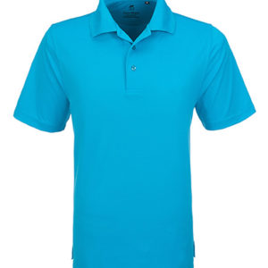Gary Player Wynn Golf Shirt Mens Light Blue