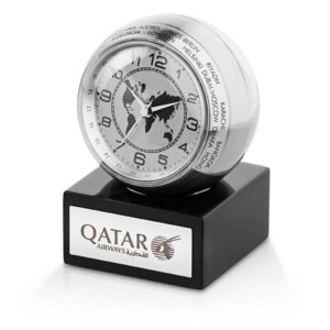 Globe Trotter World Clock