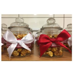 Gourmet Popcorn Jars - Grayhouse