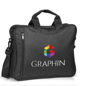 Gray House Promotions Branded Graffiti Conference Bag