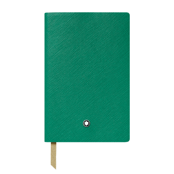 Gray House Green Notebook