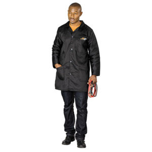 Handy Man Dust Coat Black