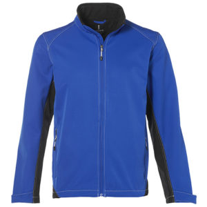 Iberico Soft Shell Jacket Mens Blue