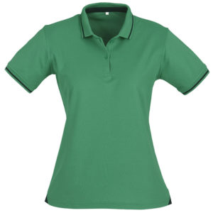 Jet Cotton Touch T-Shirt Ladies Green