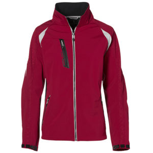 Katavi Soft Shell Jacket Mens Red