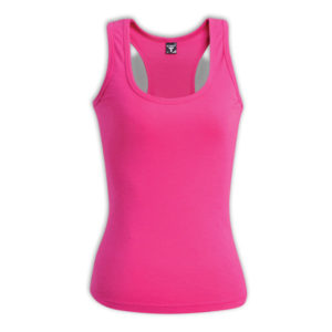 Ladies Racerback Top Pink