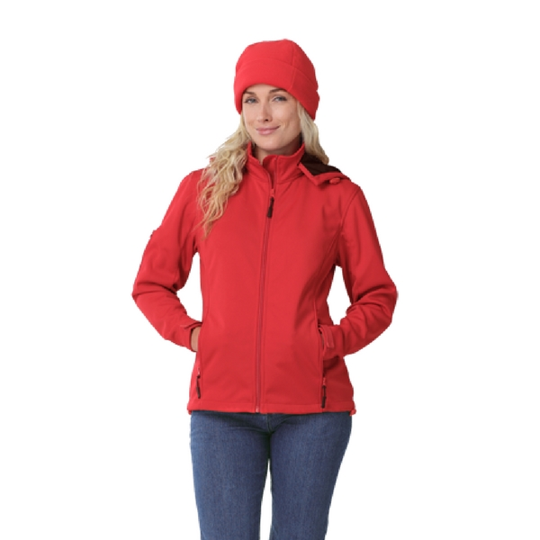 Hooded Red Jacket