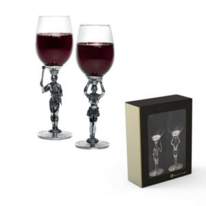 Gray House Maiden Wine Glass Gift Set